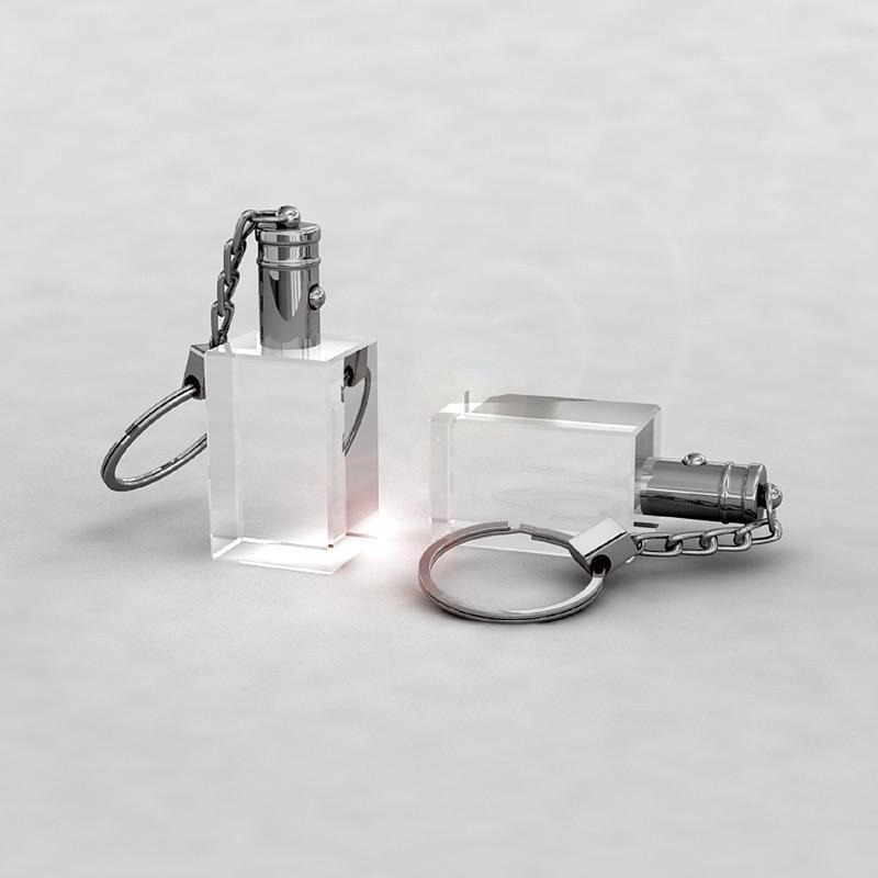 2D Schlüsselanhänger