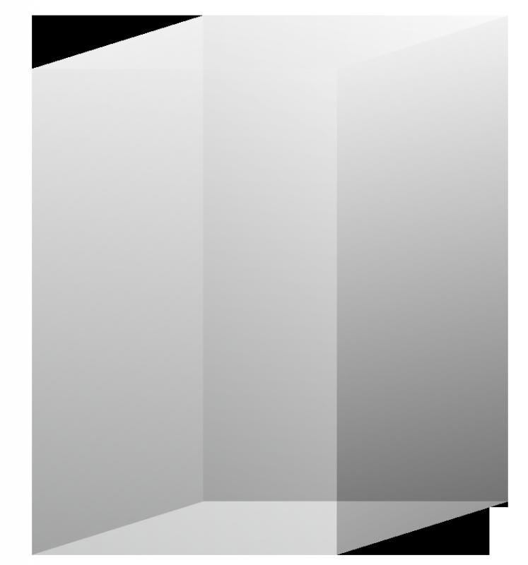 3D Kristall Rechteck R90