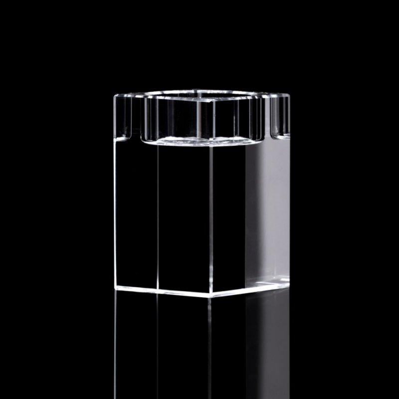 Teelichthalter - 3d kristall foto ...